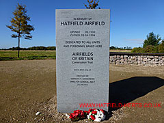 Airfields of Britain Conservation Trust memorial stone